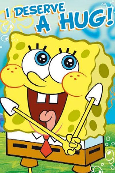 בוב ספוג  - Sponge Bobchildren    בוב ספוג  - Sponge Bob     אנימציה  אנימציה סרטים מצוירים דיסני  Spongebob חדר ילדים פוסטר צבעוני Nintendo ילדותי