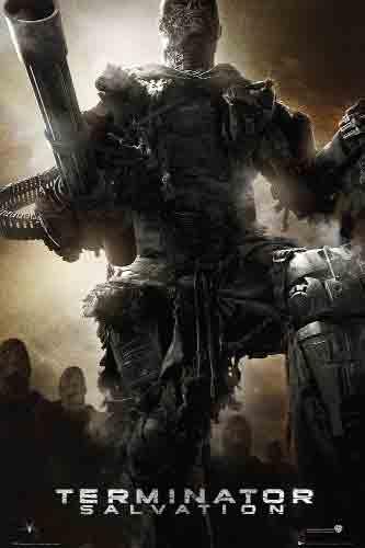 Terminator Salvationהמחסל תרמינטור טרמינטור אימה בנים קילר killer פחד צבא מלחמה army