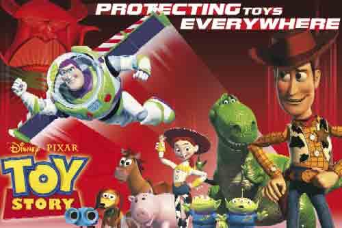 צעצוע של סיפורToy Story אנימציה סרט ילדים