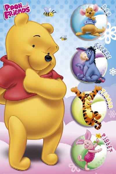 פו הדוב - Winnie The Poohפו הדוב - Winnie The Pooh  אנימציה