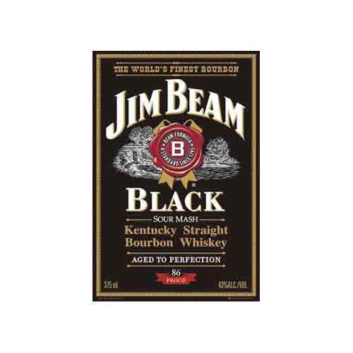וויסקי בירה משקה חריף Black Label Jim Beam ג'ים בים בקבוק שתיה