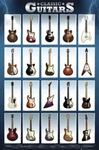 גיטרות קלאסיותכלי נגינה גיטרה רוק בס