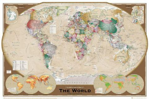 מפת עולםמפות ישנות עתיקות   מפה עתיקה   מפת עולם , מפה, מפה עתיקה, מפה פוליטית