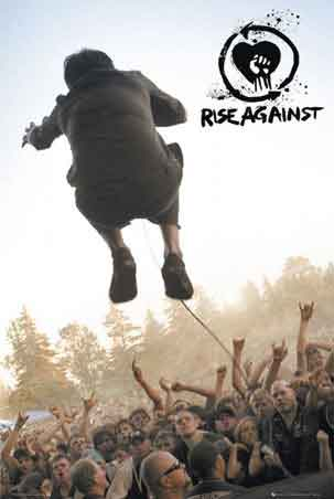 Rise Against מוסיקה זמר רוק קצב פופ קפיצה