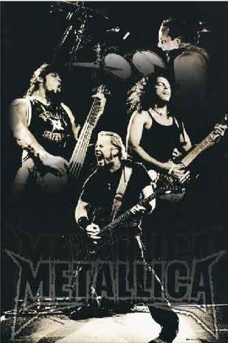 מטליקה מוסיקה זמר רוק קצב פופ מתליקה רוק כבד metallica metalica