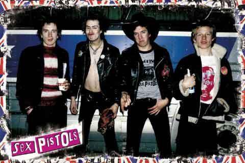 אקדחי הסקס מוסיקה זמר רוק קצב פופ רוק כבד סקס פיסטולס Sex Pistols