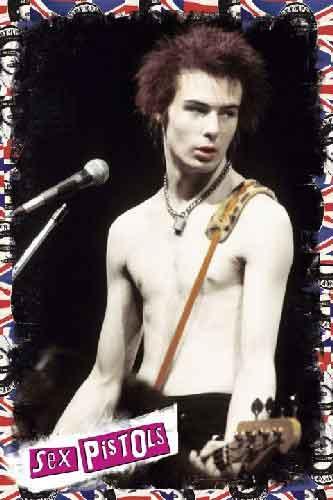 אקדחי הסקס מוסיקה זמר רוק קצב פופ רוק כבד סקס פיסטולס Sex Pistols sid