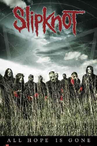 סליפנוט מוסיקה זמר רוק קצב פופ רוק כבד Slipknot All Hope