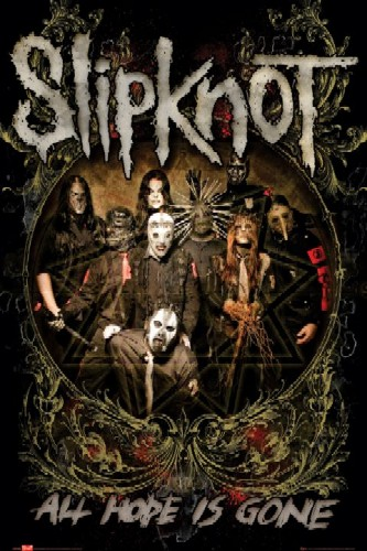 סליפנוטSlipknot , all hope is gone
