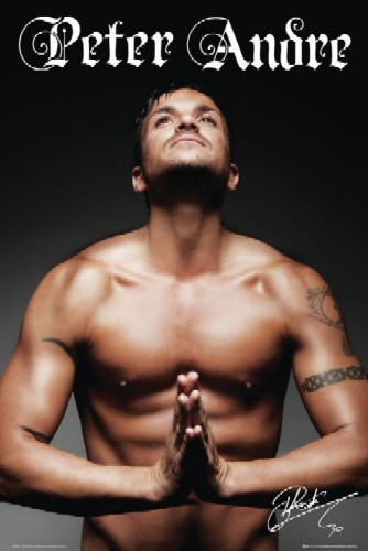Peter Andre,  pray