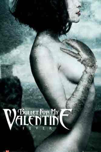 בולט פור מיי ולנטייןBullet For My Valentine להקה זמר רוק הופעה במה פופ סטאר גיטרות