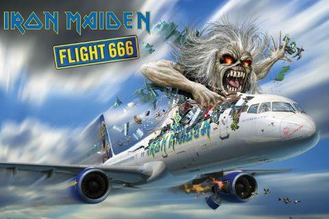 איירון מיידןiron maiden רוק כבד flight 666 ,הבי מטאל