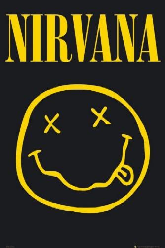 נירוואנהנירוואנה nirvana kurt cobain גיטרה גראנג' סמיילי