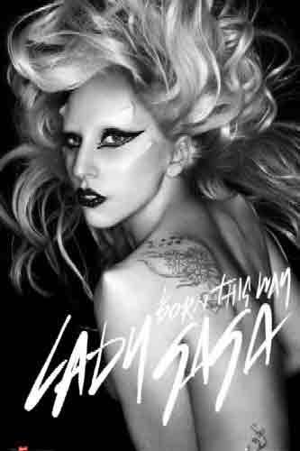 ליידי גאגא לידי גאגא Born This Way lady gaga