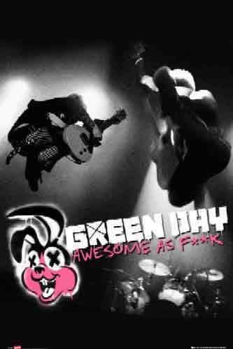 GREEN DAYגרין דיי, מוסיקה, רוק, גיטרה,