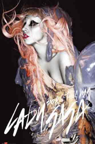 ליידי גאגא לידי גאגא ג'ינג'י כתום Born This Way lady gaga Gunge Orange Hair