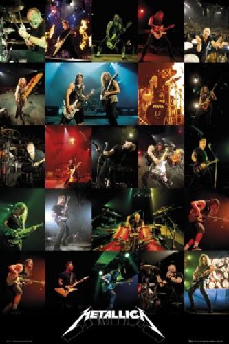 רוק כבד metallica tour live