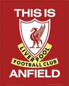 This Is Anfield קבוצה כדורגל ספורט שחקנים אליפות אנגליה סמל