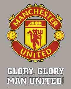 מנצ'סטר יונייטדאיצטדיון סמל Manchester United מנצסטר יוניטד קבוצה כדורגל ספורט מנצח אנגליה