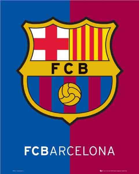 ברצלונהסמל ברצה קבוצה משחק ספורט שחקנים Barcelona
