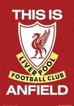 ליברפול LiverpoolThis Is Anfield קבוצה כדורגל ספורט שחקנים אליפות אנגליה סמל