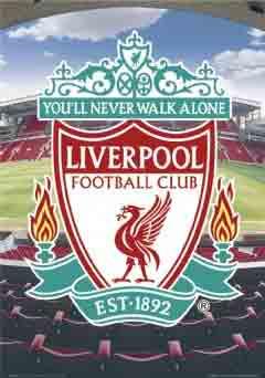 ליברפול Liverpoolליוורפול קבוצה כדורגל ספורט שחקנים אליפות אנגליה סמל liverpool  גרארד ג'ררד