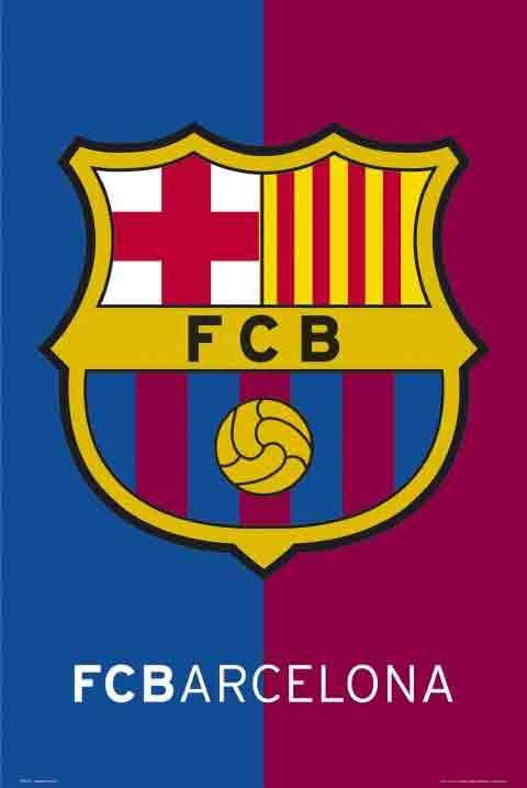 ברצלונה Barcelonaסמל ברצה קבוצה משחק ספורט שחקנים Barcelona
