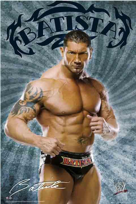 WWF - בטיסטהBatista איגרוף אגרוף האבקות זירה אלוף אליפות גיבור חזק מתאגרף
