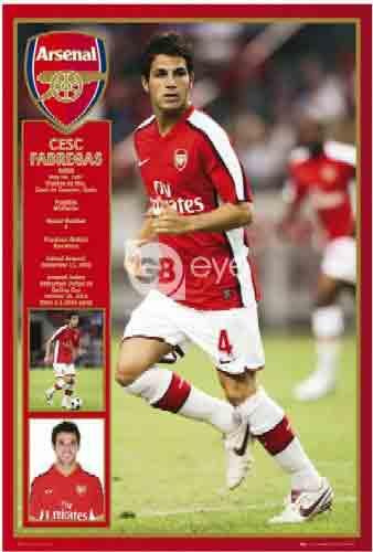 ארסנל פברגאס   Arsenal   Fabregas    Arsenal ספורט קבוצה כדורגל שחקנים  אליפות סמל אנגליה Fabregas  פאברגס