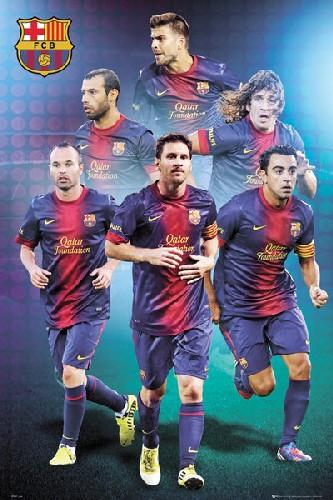 ברצלונה Barcelonaכדורגל, ברצלונה, קבוצה , מסי