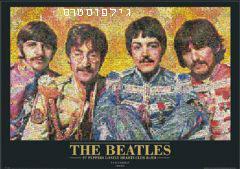 החיפושיות- פסיפסביטלס לנון פול מקרטני מוזיקה מוזאיקה