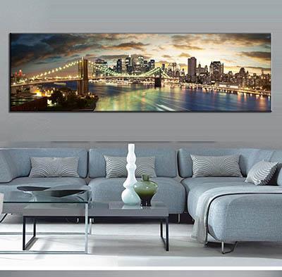 מנהטן ניו יורק Manhattan New Yorkגשר תמונות לסלון תמונות לבית פרויקטים