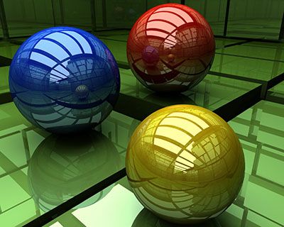 כדורים צבעוניםכדורים צבעונים_three-shiny-balls
