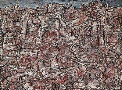 ז'אן דובופה - בנוף   Jean Dubuffet - PAYSAGE AUX RACINES ז'אן דובופה - בנוף   Jean Dubuffet - PAYSAGE AUX RACINES
