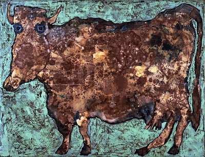 ז'אן דובופה - הפרה עם האף העדין  Jean Dubuffet - The Cow with the Subtile Nose ז'אן דובופה - הפרה עם האף העדין  Jean Dubuffet - The Cow with the Subtile Nose