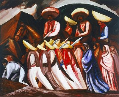 Jose Clemente Orozco - ZapatistasJose Clemente Orozco - Zapatistas