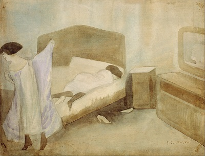 Jose Clemente Orozco-The BedroomJose Clemente Orozco-The Bedroom