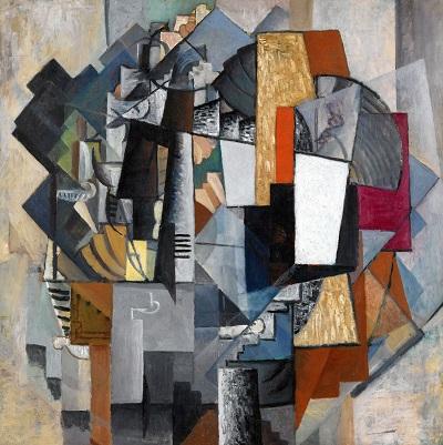 Kasimir Malevich -  Bureau and Room-Kasimir_Malevich_Bureau-and-Room-by-Kazimir-Malevich