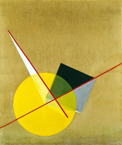 Laszlo Moholy-Nagy - Yellow CircleLaszlo Moholy-Nagy - Yellow Circle