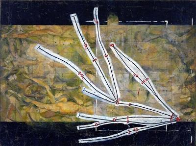 מרסל דושאן - רשת של הפסקות  Marcel Duchamp - Network of Stoppagesמרסל דושאן - רשת של הפסקות  Marcel Duchamp - Network of Stoppages