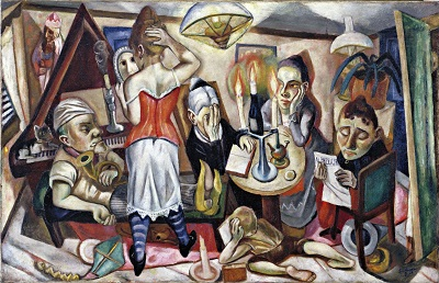 Max Beckmann - Family Picture-Max Beckmann - Family Picture