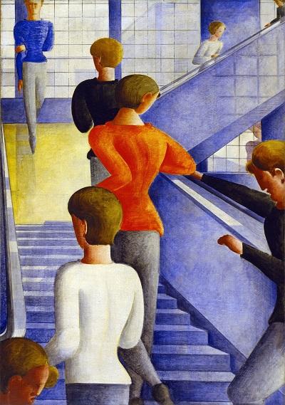 Oskar Schlemmer - Bauhaus Stairway-Oskar Schlemmer - Bauhaus Stairway