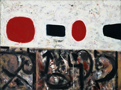 Adolph Gottlieb - Flotsam at Noon-Adolph Gottlieb - Flotsam at Noon
