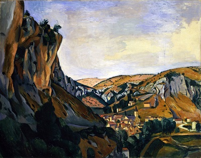 Andre Derain - Valley of the Lot at VersAndre Derain - Valley of the Lot at Vers