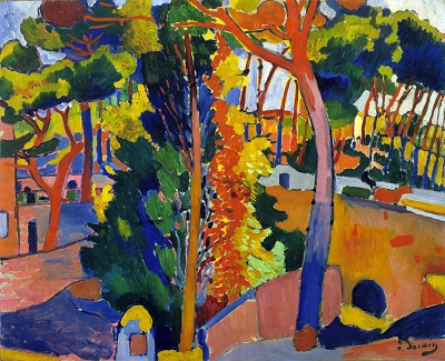 Andre Derain - Bridge over the RiouAndre Derain - Bridge over the Riou