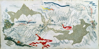 Andre Masson - Battle of FishesAndre Masson - Battle of Fishes