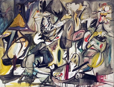Arshile Gorky - The Leaf of the Artichoke Is an Owl Arshile Gorky - The Leaf of the Artichoke Is an Owl