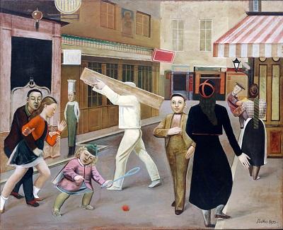 Balthus - The StreetGP-ART-1345-Balthus - The Street