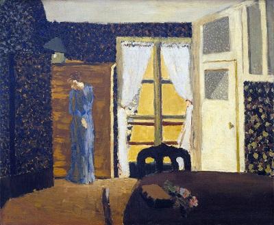 douard Vuillard - The Window douard Vuillard - The Window