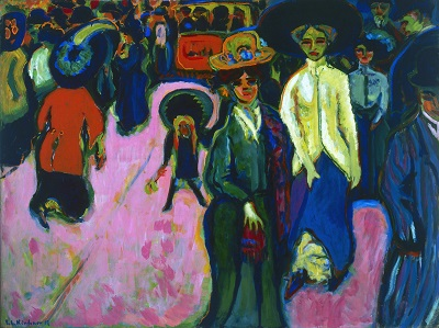 Ernst Ludwig Kirchner - Street, Dresden-Ernst Ludwig Kirchner - Street, Dresden